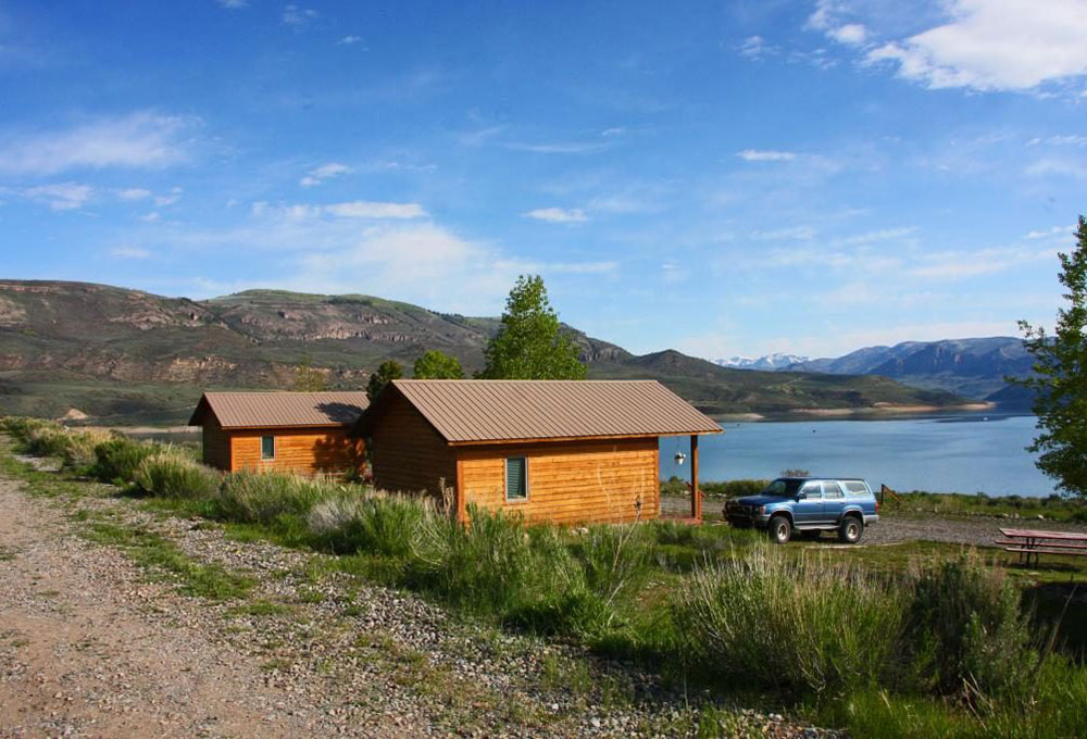 Camping Cabins at Blue Mesa Outpost
